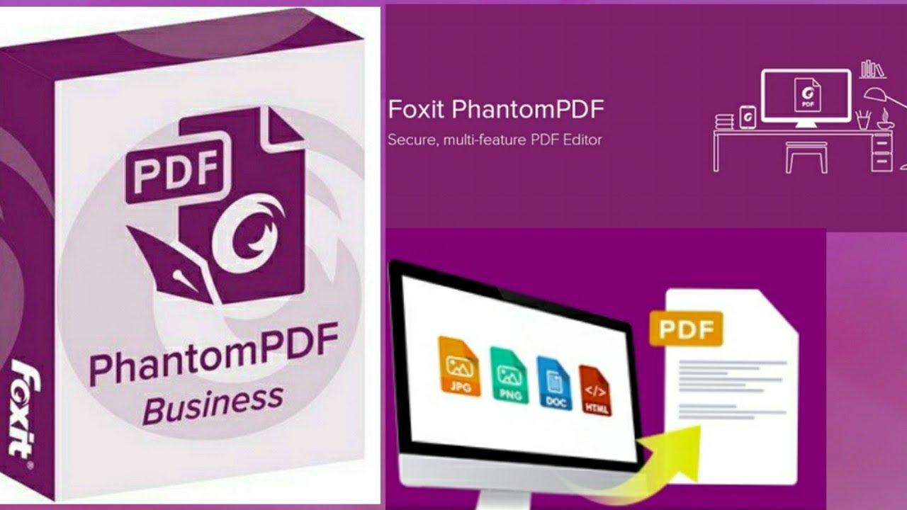 foxit phantomPDF là gì
