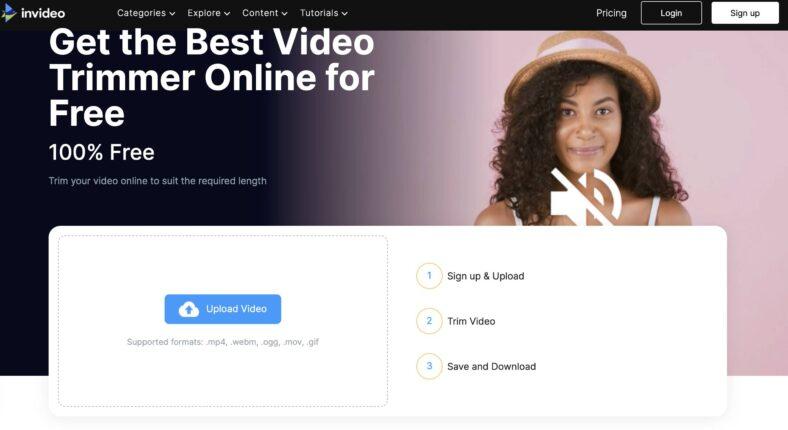 InVideo Công cụ chỉnh sửa video online mạnh mẽ
