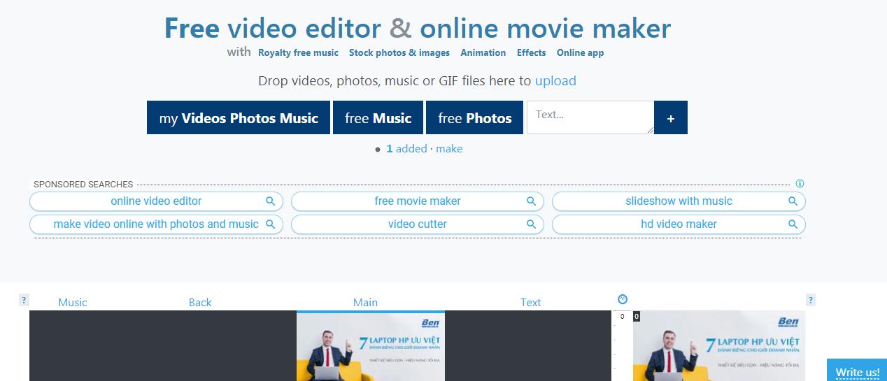 phần mềm ghép video