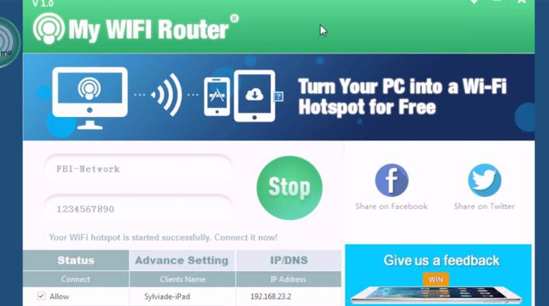 Phần mềm phát wifi chất lượng