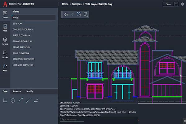 AutoCAD là công cụ hỗ trợ hiệu quả trong các ngành kiến trúc, xây dựng, kỹ thuật,...