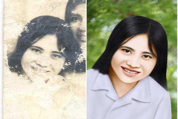 Photoshop giúp phục chế ảnh cũ tối ưu
