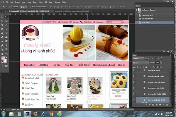 Có thể dùng phần mềm Photoshop để thiết kế mẫu banner đẹp