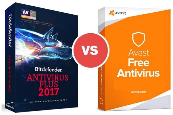 So sánh Bitdefender và Avast về tính năng